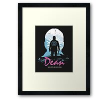 I Hunt, Therefore I Am (Dean - Supernatural & Drive) Framed Print