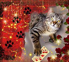Sparkly Kitty by WildestArt