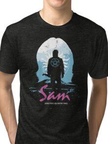 The Song Remains The Same (Sam - Supernatural & Drive) Tri-blend T-Shirt