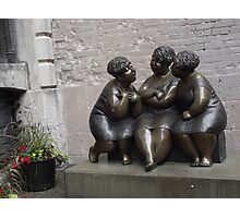 Old Montreal Stone Ladies Photographic Print