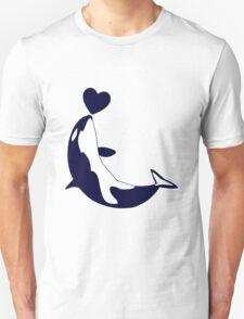 Love Orcas Unisex T-Shirt