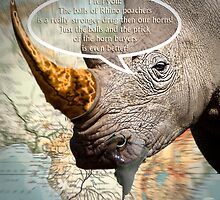 the balls of the Rhino poachers by NafetsNuarb