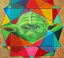 Retro Force - Yoda by Sydney Fleming