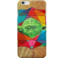 Retro Force - Yoda iPhone Case/Skin