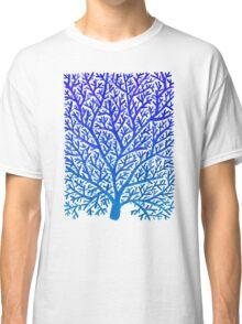 Fan Coral – Blue Ombré Classic T-Shirt