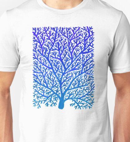 Fan Coral – Blue Ombré Unisex T-Shirt