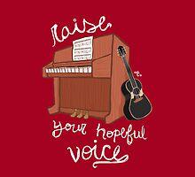 Raise Your Hopeful Voice by makjesdewafflus