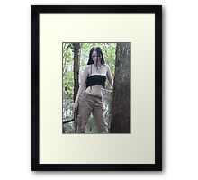 Theban Elf Shoot 2; Wanna Play? Framed Print