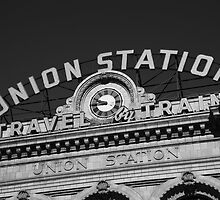 Denver - Union Station by Frank Romeo
