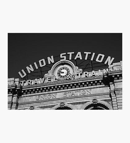 Denver - Union Station Photographic Print