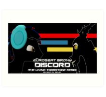 Discord (SFM Cover) Art Print