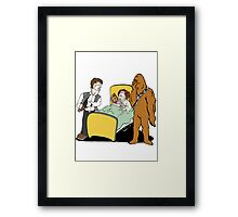 What did Chewy Do? Framed Print