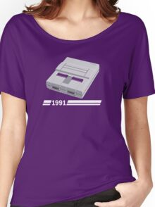 History of Gaming - SNES Women's Relaxed Fit T-Shirt