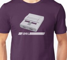 History of Gaming - SNES Unisex T-Shirt