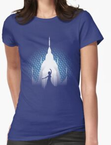 The Cold Never Bothered Me Anyway Womens Fitted T-Shirt