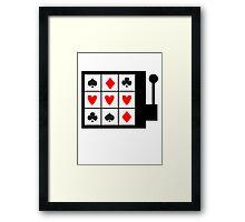 Love Gamble Framed Print