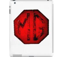 MG Badge iPad Case/Skin