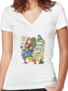 In a Parallel Universe Women's Fitted V-Neck T-Shirt