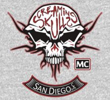 The Screaming Skulls: Get Patched! by immortaljaye