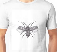Longicorn Beetle in Ink Unisex T-Shirt