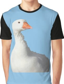 Wild White Duck Background Removed Graphic T-Shirt