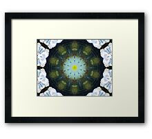 """GreenTanga Flower"" by Carter L. Shepard Framed Print"