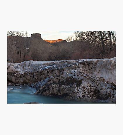 Icey Photographic Print