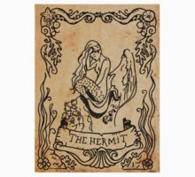 Mermaid Tarot Sticker: The Hermit by SophieJewel
