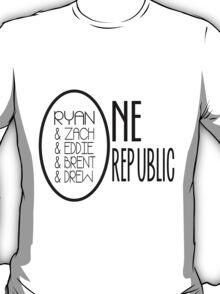 OneRepublic, 5 Members T-Shirt