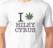 I love Hiley Cryus - I heart Miley Cyrus NY Unisex T-Shirt
