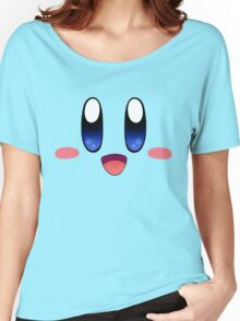 Kirby Face Women's Relaxed Fit T-Shirt