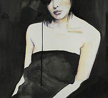 Sara, Self Portrait. by RichesRoad