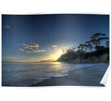 Spring Beach HDR - Orford, Tasmania, Australia Poster