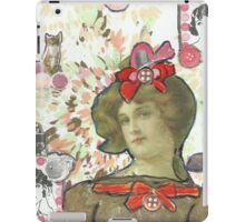 Buttons & Bows iPad Case/Skin