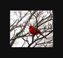 Winter Cardinal - Icy Tree Unisex T-Shirt