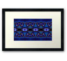 Blue Energy Framed Print