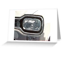 Mk.1 Ford Escort Headlamp Greeting Card