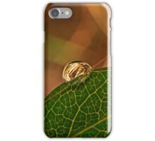 Golden Droplet  iPhone Case/Skin