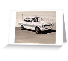 Mk.1 Ford Escort RS2000 Greeting Card