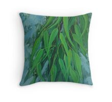Fresh Eucalyptus Throw Pillow