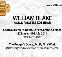"for my friends . World  Exhibition -William Blake- 'A WORK …A SECRET "" by Andre  Furlan"