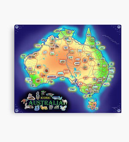 Iconic Australia Canvas Print