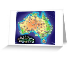 Iconic Australia Greeting Card