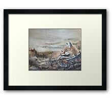 Morning of the Hunt Framed Print