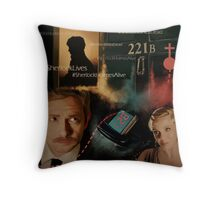 The Empty Hearse Throw Pillow