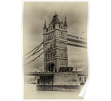 Tower bridge - north tower Poster