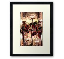 BE MY VALENTINE 7 Framed Print
