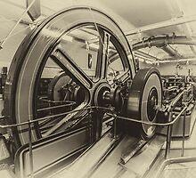 Tower Bridge - Engine Room by Wolfgang Zwicknagl Photography