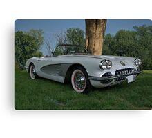 1959 Corvette Canvas Print