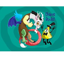 Chaos Buds! Photographic Print